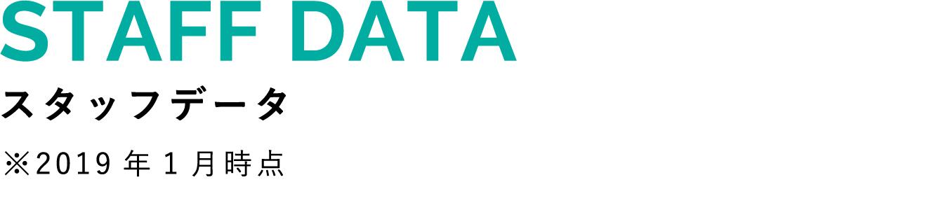 STAFF DATA スタッフデータ