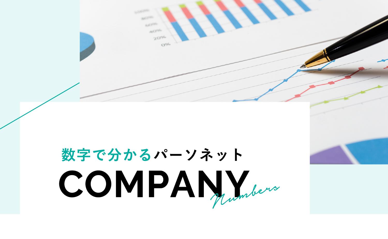 数字で分かるパーソネット / COMPANY
